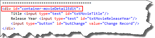 how to put multiple elements in a div