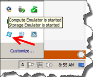 How-to deploy application to Windows Azure Compute Emulator with